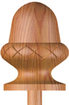 Carved  Acorn
